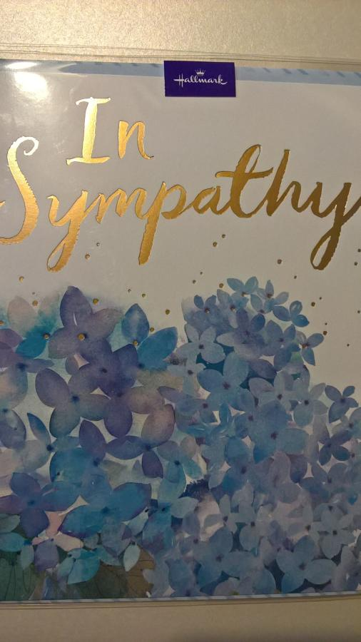 Sympathy and Thinking of you cards