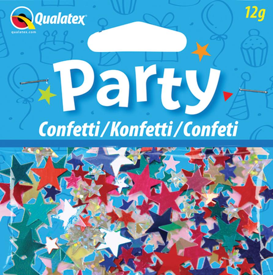 Multi-Coloured Stars Confetti