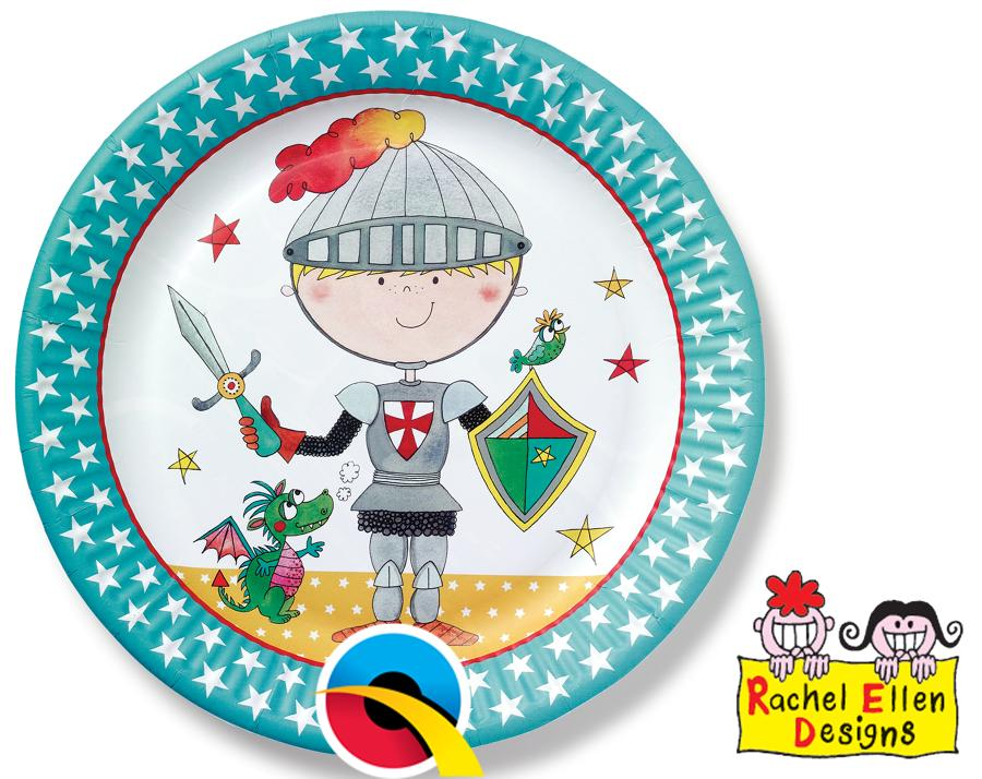 Knight Paper Plates
