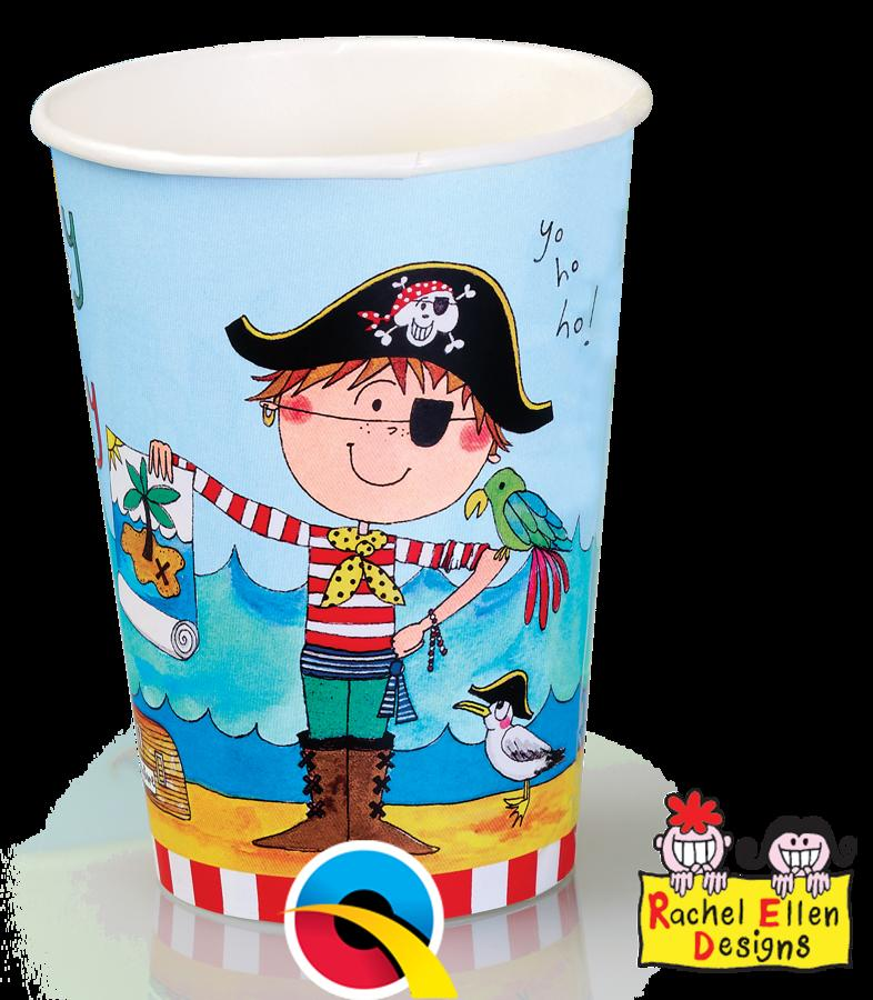 Pirate Party Paper Cups
