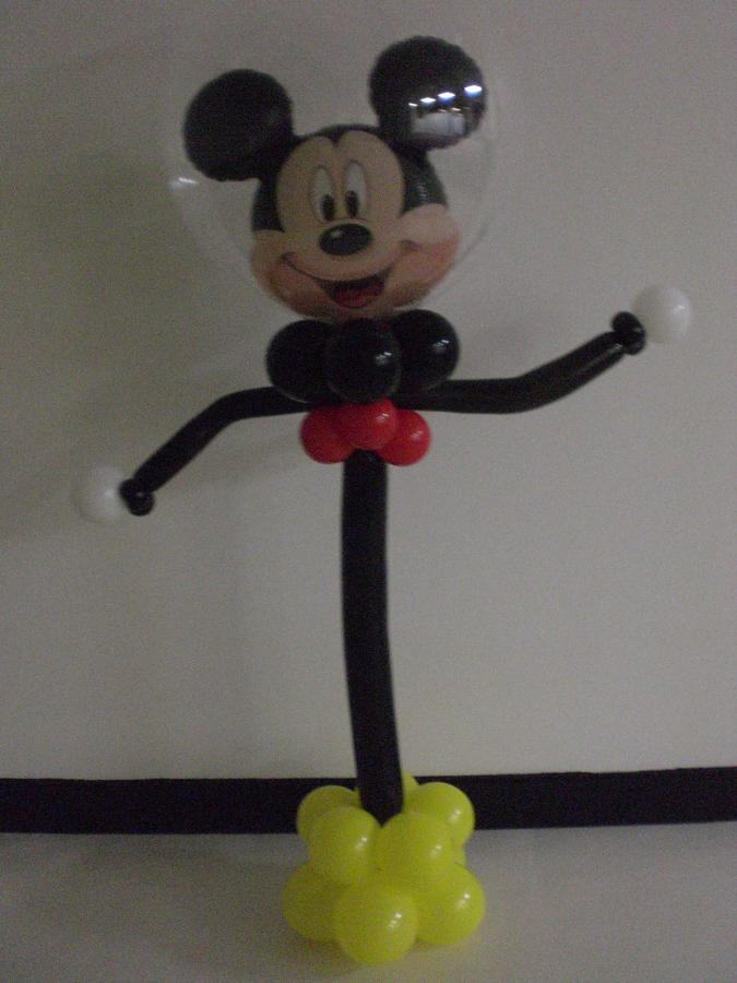 Mickey party friend