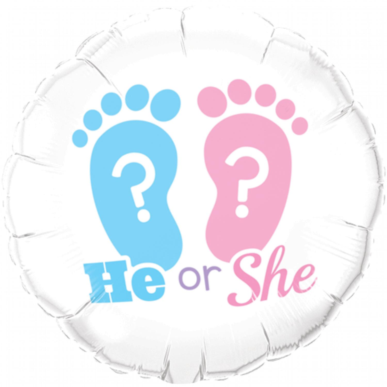 He or She? Foil Balloon