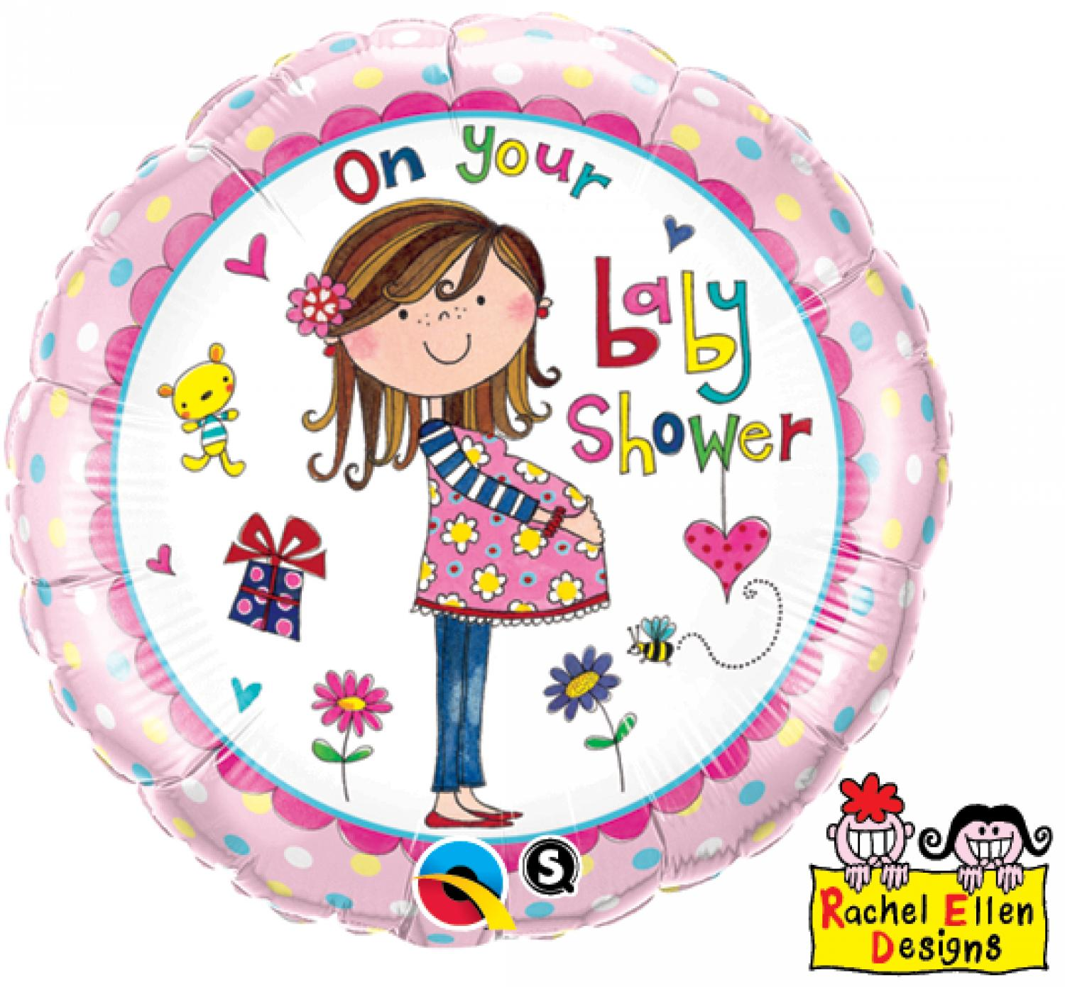 On Your Baby Shower Foil Balloon