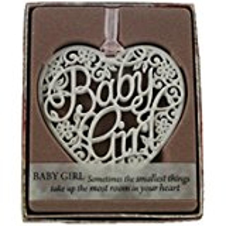 Baby Girl Keepsake Hanger
