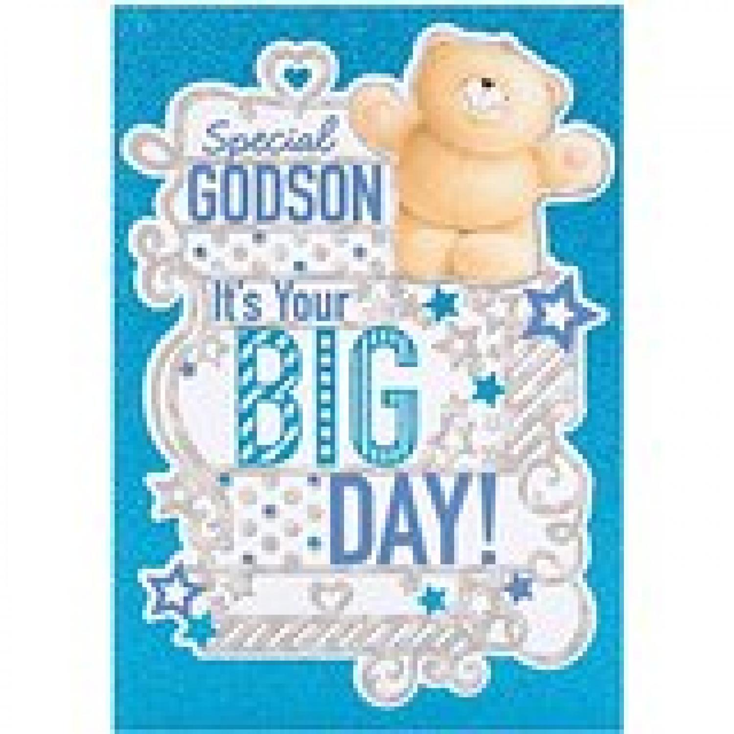 Godson Birthday Card In Male Relations