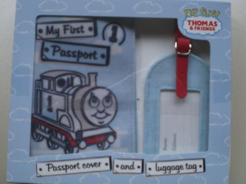 Thomas Passport Cover and Luggage Tag