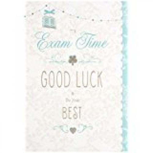 Exam Good Luck