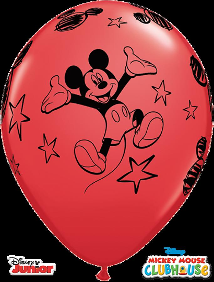 Mickey latex balloons