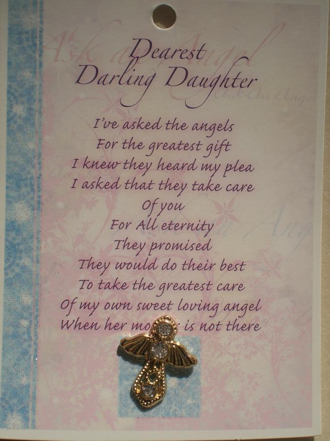Daughter Angel (gold)
