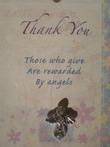 Thank You Angel (silver)