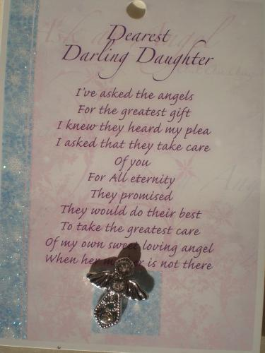 Daughter Angel (silver)