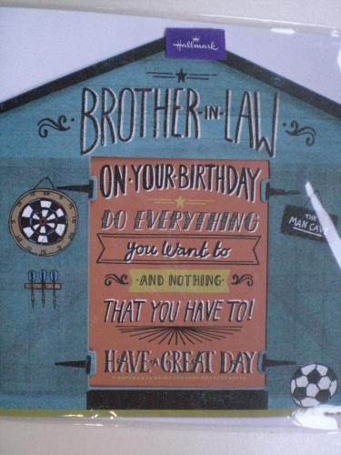 Brother-in-Law Birthday