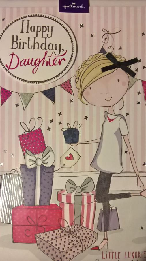 Daughter Birthday