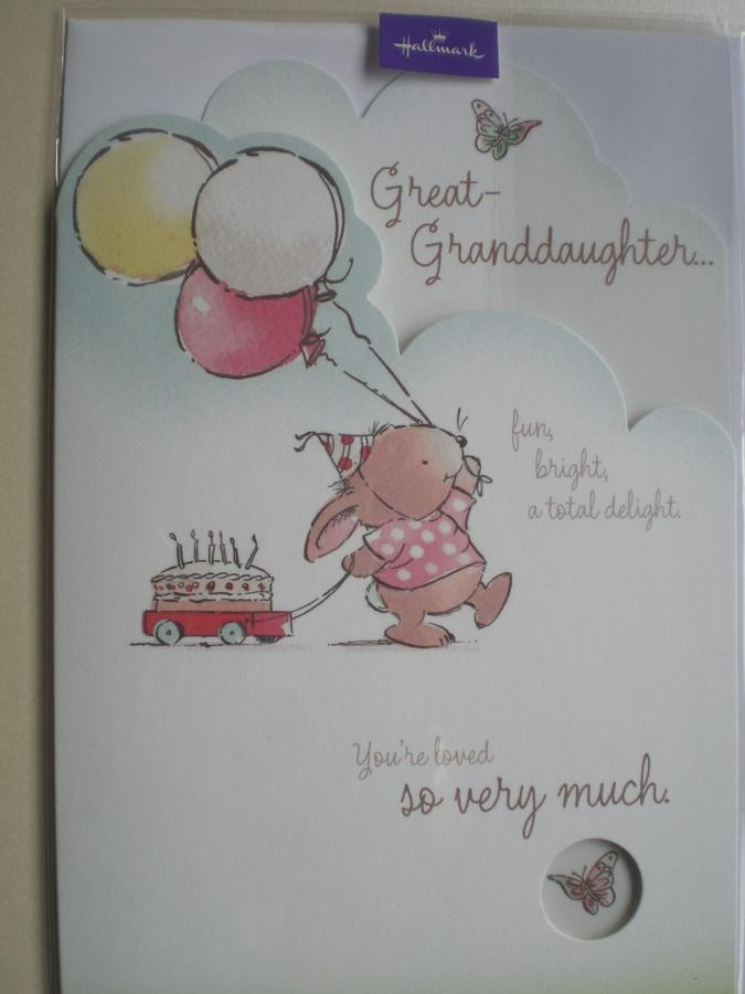 Great Granddaughter Birthday