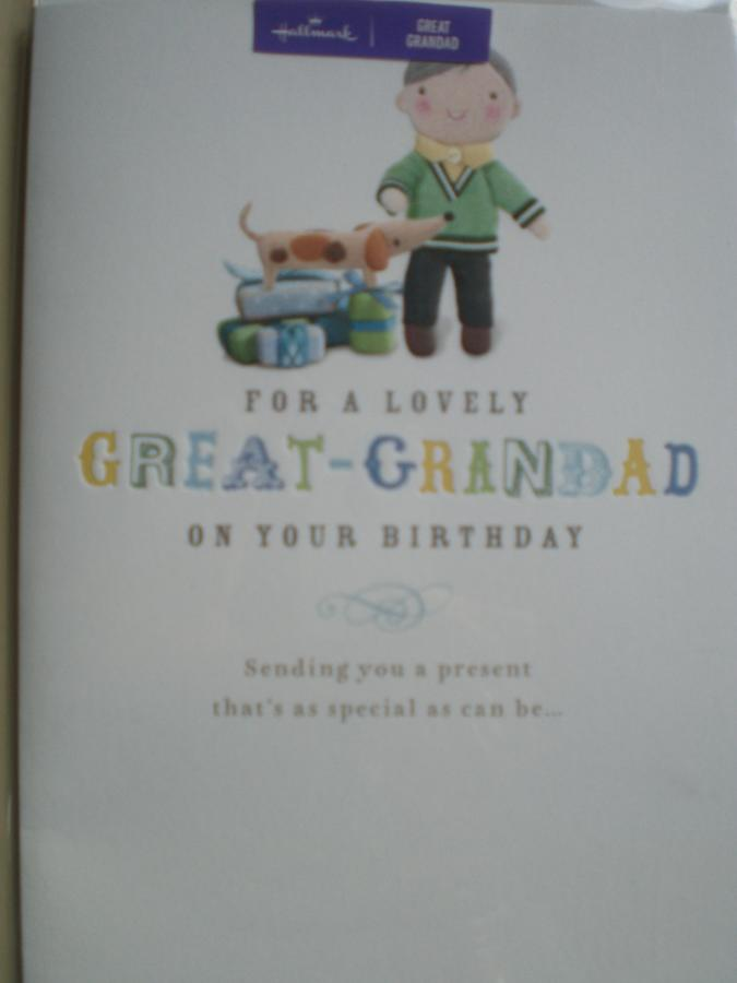 Great-Grandad Birthday