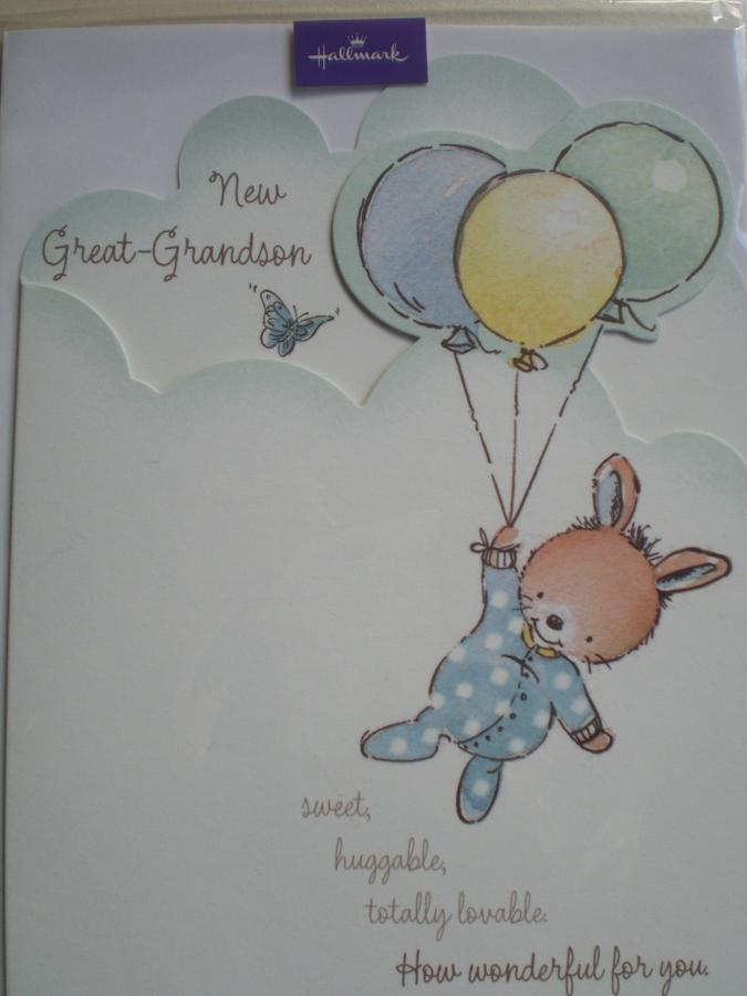 New great grandson card