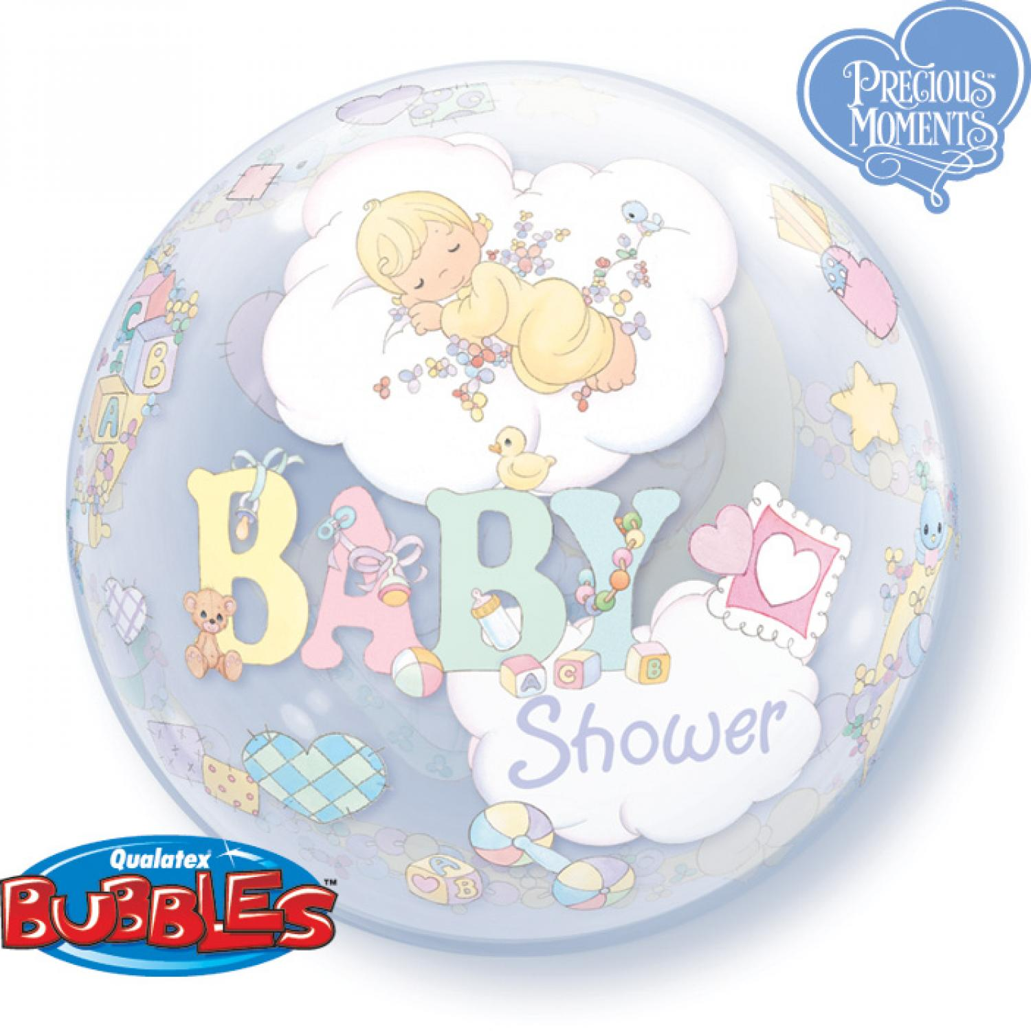 Baby shower bubble balloon