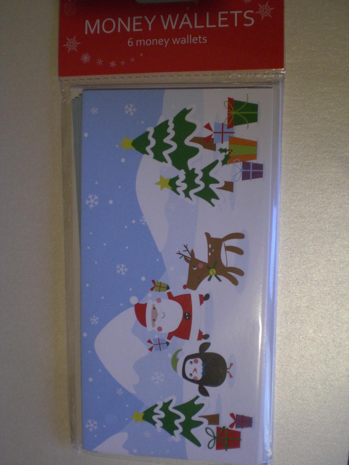 Christmas money wallets multipack
