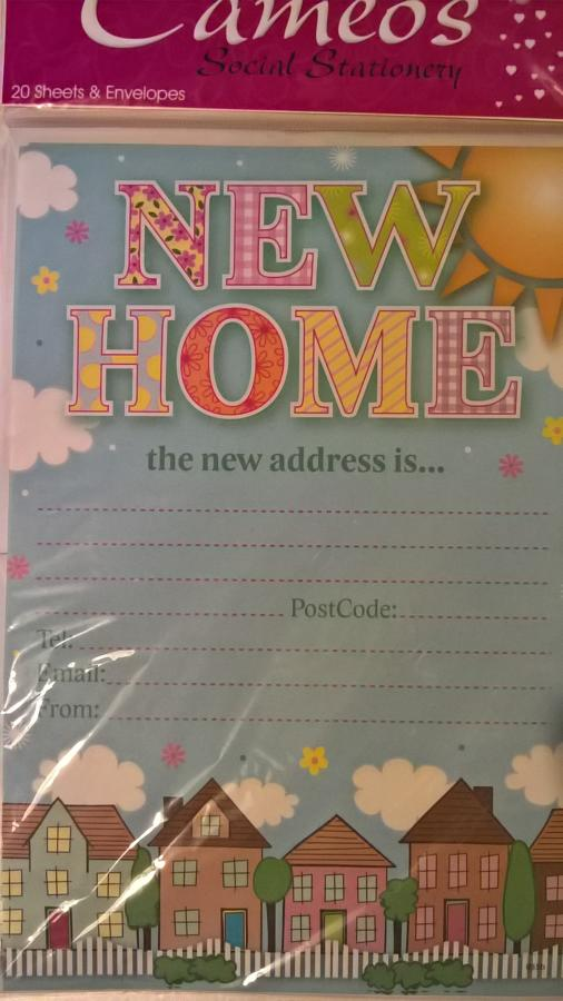 Change of address letters
