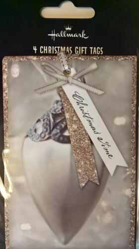Gift tags luxury bauble