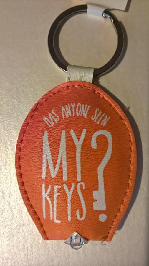 Light up keyring