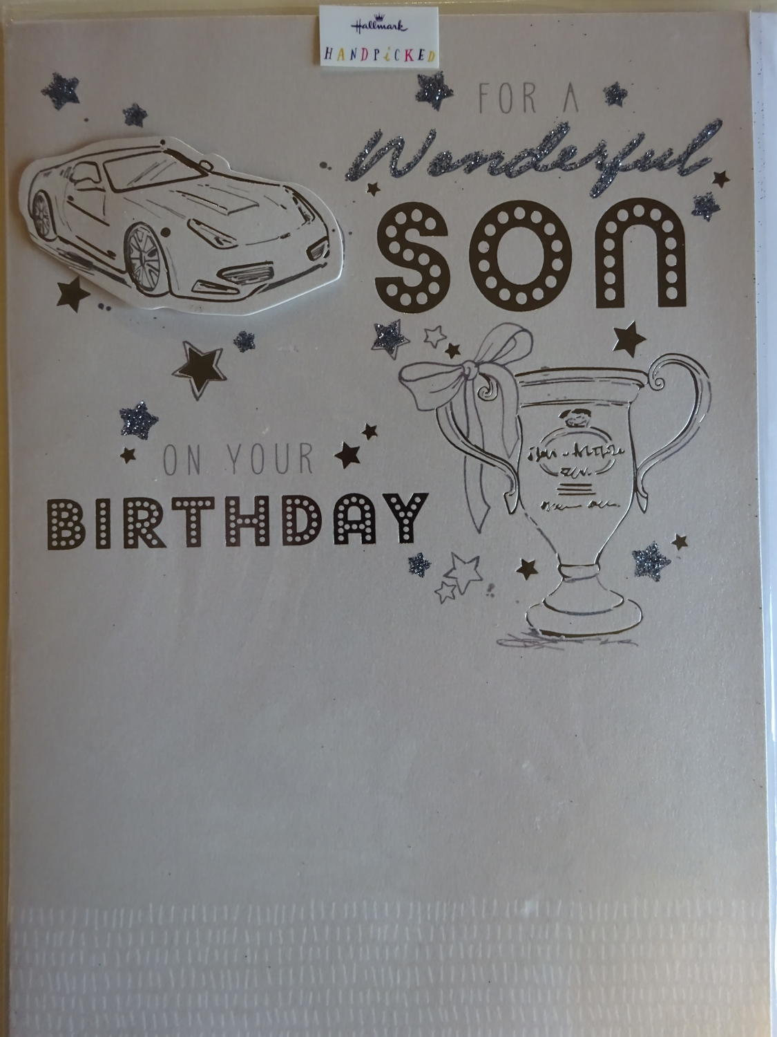 Son birthday card