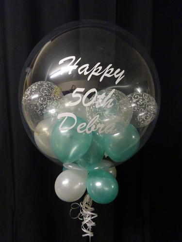 Personalise a balloon